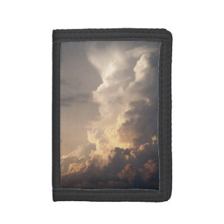 Thunderhead Cloud Heaven Sky Storm Clouds Tri-fold Wallet