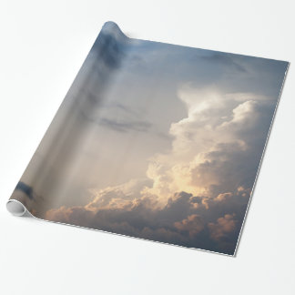 Thunderhead Cloud Heaven Sky Storm Clouds Wrapping Paper