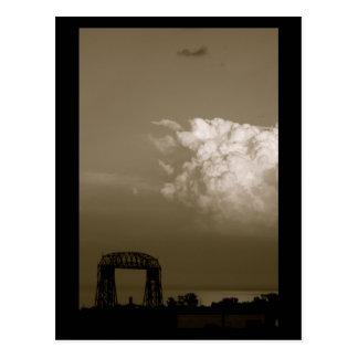 Thunderhead over Lake Superior Postcard