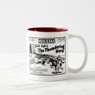 Thundering Herd 1925 movie ad Mug