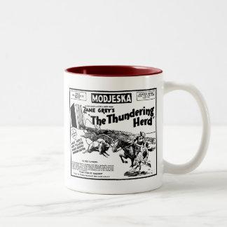 Thundering Herd 1925 movie ad Mug