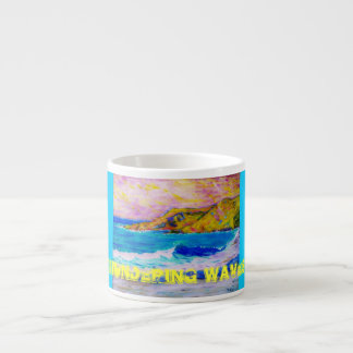 thundering waves espresso cup