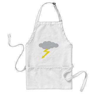 thunderstorm adult apron