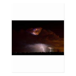 Thunderstorm Boulder County Colorado 08-15-10 Postcards