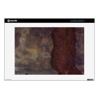 Thunderstorm by Gustav Klimt Laptop Skin