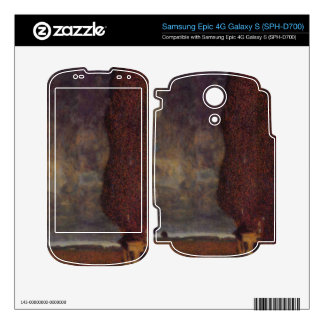 Thunderstorm by Gustav Klimt Skin For The Samsung Epic