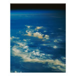 Thunderstorm Clouds Poster
