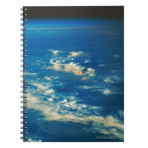 Thunderstorm Clouds Spiral Notebook