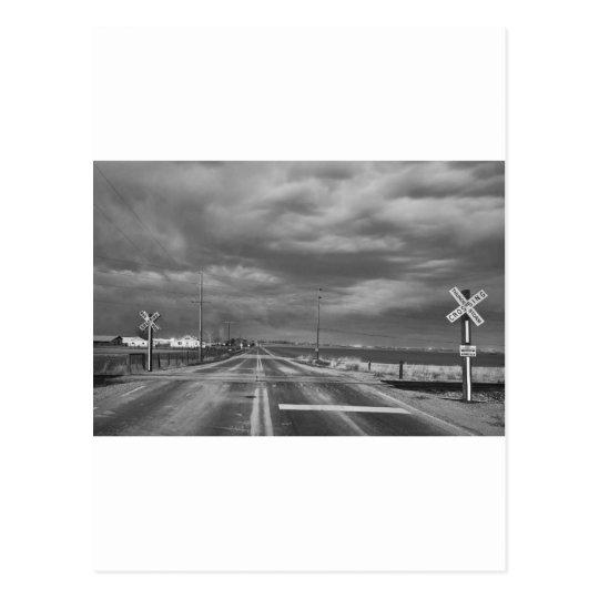 Thunderstorm Crossing Postcard