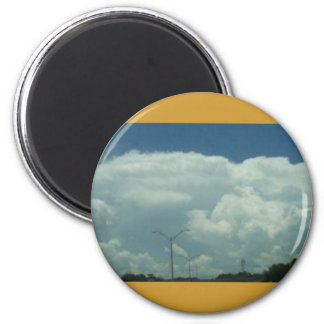 Thunderstorm in a Distance Refrigerator Magnet