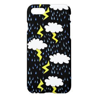 Thunderstorm Lightning strikes iPhone 7 Case