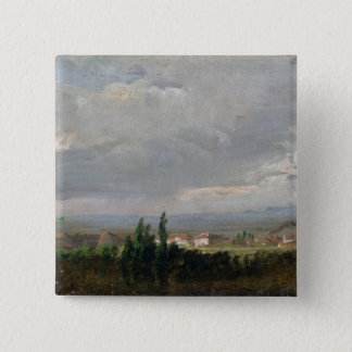 Thunderstorm Near Dresden, 1830 Button