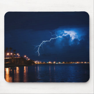 Thunderstorm over Miami - Mousepad