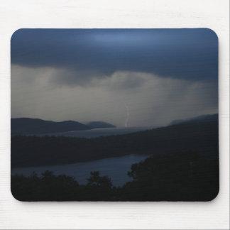 Thunderstorm over Quabbin Reservoir Mouse Pad