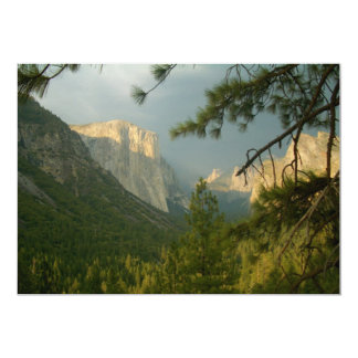 Thunderstorm over Yosemite Valley Card