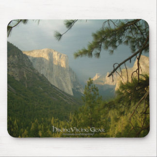 Thunderstorm over Yosemite Valley Mouse Pad