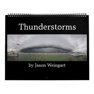 Thunderstorm Photography Calendar