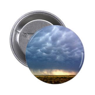 Thunderstorm Pinback Button