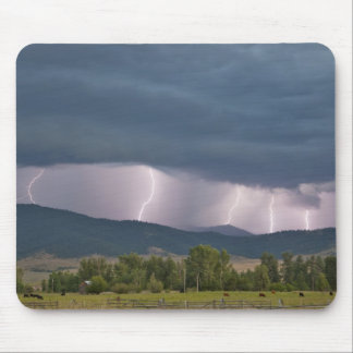 Thunderstorm produced lightning in the Jocko Mouse Pad