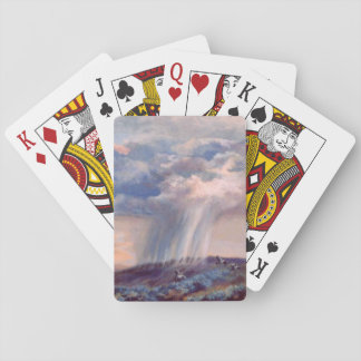 Thunderstorm Quail Classic Designed Playing Cards