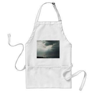 Thunderstorm Sailing Adult Apron