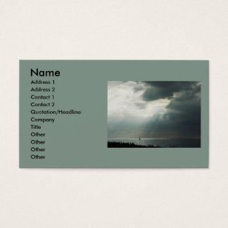 Thunderstorm Sailing Business Card