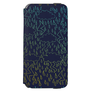 Thunderstorms iPhone 6/6s Wallet Case