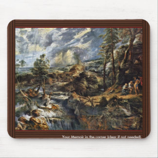 Thunderstorms Landscape With Philemon And Baucis Mouse Pad