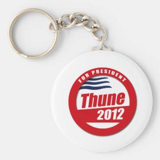 Thune 2012 button basic round button keychain
