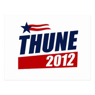 THUNE 2012 POSTCARD