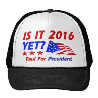 Thune for President designs Mesh Hats