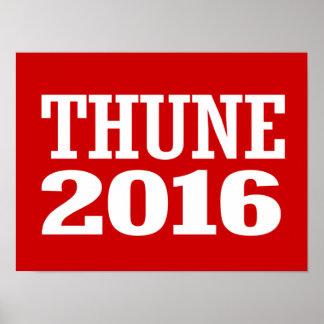 Thune - John Thune 2016 Poster