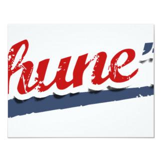 Thune Team 4.25x5.5 Paper Invitation Card