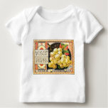 Thurber Muscat Grapes - Vintage Crate Label Baby T-Shirt