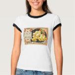 Thurber Muscat Grapes - Vintage Crate Label T-Shirt