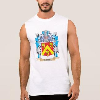 Thurel Coat of Arms - Family Crest Sleeveless Shirt