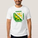 Thurgau Switzerland Canton Flag T Shirt