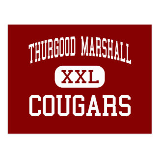 Thurgood Marshall - Cougars - Middle - Chicago Postcard
