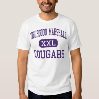 Thurgood Marshall - pumas - alto - Dayton Ohio Playeras