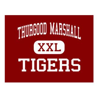 Thurgood Marshall - Tigers - Middle - Temple Hills Postcard