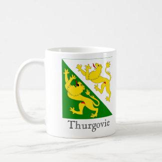 Thurgovie, banderas de Suisse Drapeau Tazas