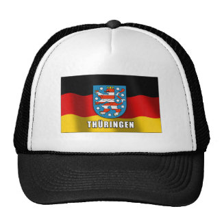 Thüringen coat of arms mesh hats