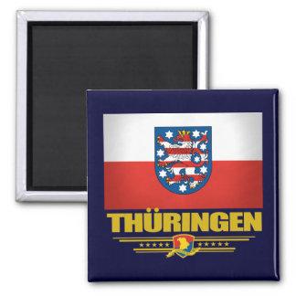 Thuringen (Thuringia) Flag Magnet