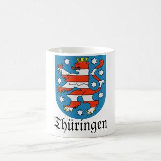 Thüringen Wappen Coat of Arms Classic White Coffee Mug