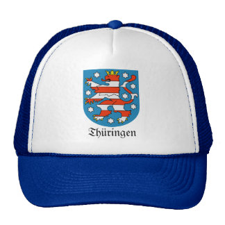 Thüringen Wappen Coat of Arms Trucker Hat