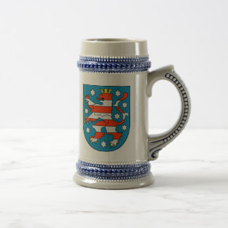 Thuringia coat of arms beer stein