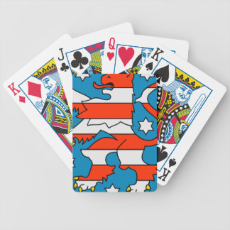 Thuringia coat of arms bicycle playing cards