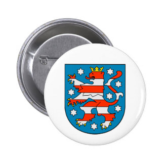 Thuringia coat of arms button