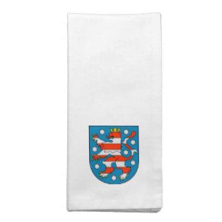 Thuringia coat of arms cloth napkin