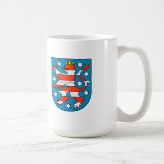 Thuringia coat of arms coffee mug